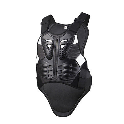 Motorcycle Body Armor Bicycle Back Support Skiing Harness Guard Safety Protector
