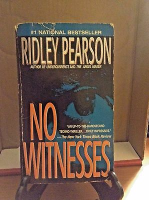 NO WITNESSES by RIDLEY PEARSON 1996 PB SERIAL KILLER MYSTERY