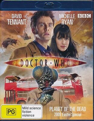 Doctor Who Planet Of The Dead 2009 Easter Special Blu Ray Blu-ray MINT