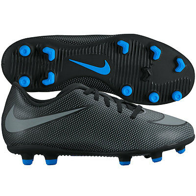 Nike Braveto II FG 2016 Soccer Shoes Brand New Black - Royal Kids Youth