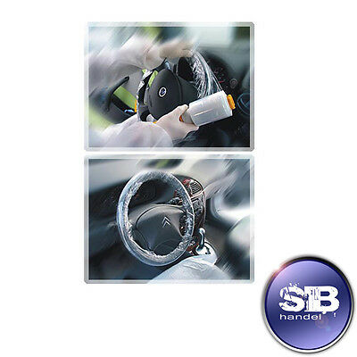 Steering wheel protection PE-Stretchfolie Rolle100mmx150m