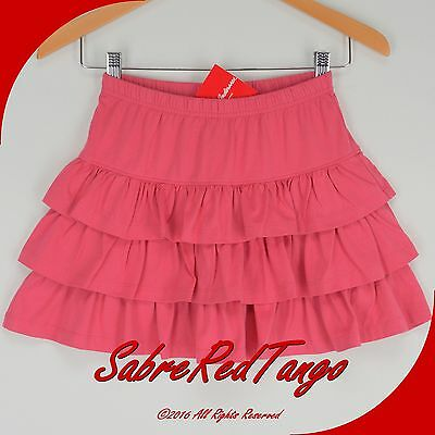 Nwt Hanna Andersson Three Tiers Scooter Skirt Skort Macaron Pink 100 4T 4