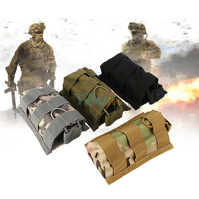 MOLLE Tactical Signal Open Top Rifle Pistol Mag Pouch Magazine Bag