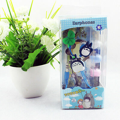 Cosplay Anime My neighbor totoro kawaii Universal earphone earpiece headset