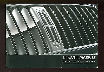 2005 Lincoln Mark Lt Preview Leaflet (Usa)