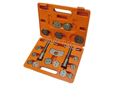 BERGEN Professional 19 Pc Left and Right Brake Caliper Rewind Tool Kit