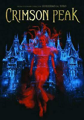 Crimson Peak - DVD-STANDARD Region 1 Free Shipping!