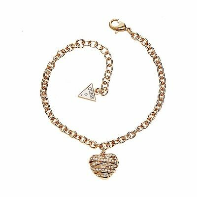 Guess UBB21595-S Women's Gold Pendants Bracelet