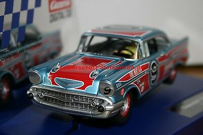 Carrera Digital 132 30759 Chevrolet Bel Air 1957 Oval Racer Nr. 9 USA Modell 16