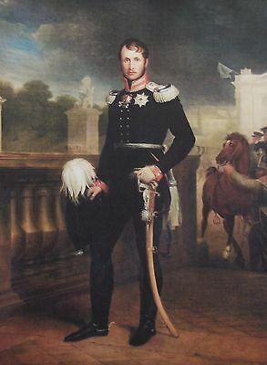 Frederick Wilhelm III King of Prussia Served 1797 1840 Autograph ''Rare''