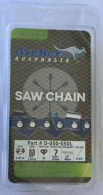 """4 PACK 8/"""" Chainsaw Chain Blade 3//8/"""" LP .050 Gauge 34 DL REPLACES OREGON S34"""