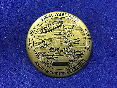 1980's Vintage Avco Lycoming Textron Final Assembly Pin