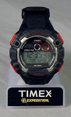 Timex Men's Expedition Digital Watch, Shock Resistant Model T49973 - FREE SHIP