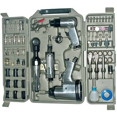 New 71pc Air Impack Tool Set Kit Wrench Ratchet Rattle Gun Driver Screwdriver