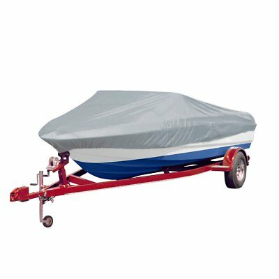 Boat Cover Waterproof 14-16ft 229cm Marine Grade Trailerable Canvas Heavy Duty