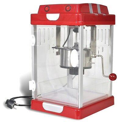 New Popcorn Popper Maker Machine 2.5OZ Theater Style Steel Party Fun Cooker Red