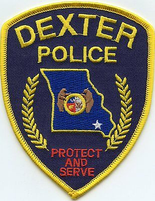 Dexter Missouri Mo Police Patch