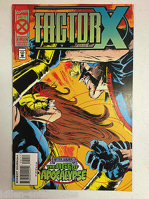 Factor X #4 Comic Book Marvel 1995 - Age of Apocalypse
