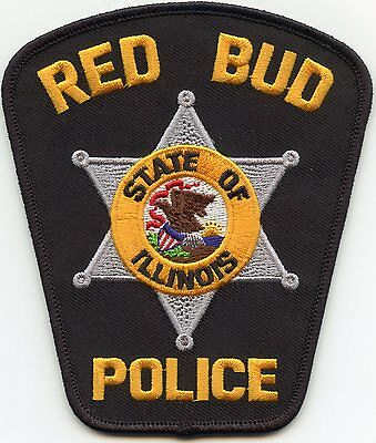 Red Bud Illinois Il Police Patch