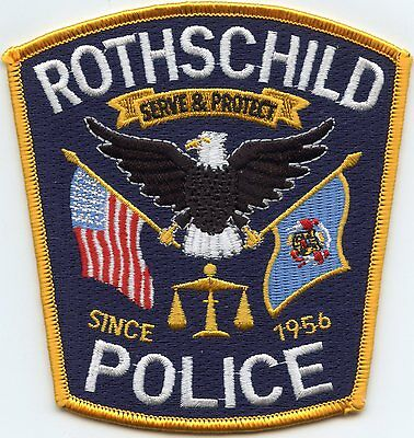 Rothschild Wisconsin Wi Police Patch