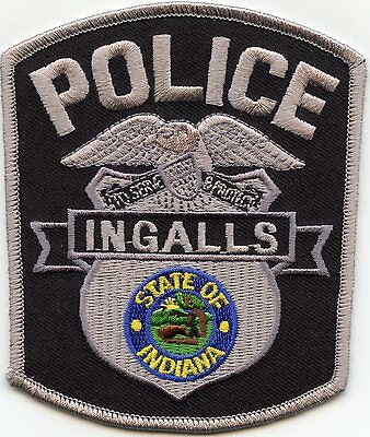 Ingalls Indiana In Police Patch