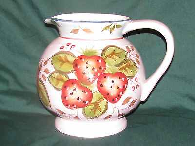 Heritage Mint LTD 'Black Forest Fruits' Ceramic Pitcher ~ Free Shipping USA