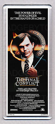OMEN III (3) THE FINAL CONFLICT movie poster LARGE 'WIDE' FRIDGE MAGNET