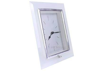 Analogue Clock with Glass Surround