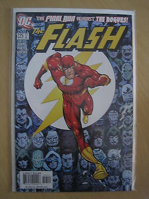 The FLASH VoL 2 # 225 FINAL RUN AGAINST the ROGUES by GEOF JOHNS. DC.2006
