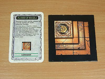 Warhammer Quest Flames Of Khazla Room And Card