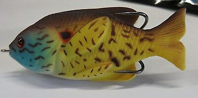"1 New 3-1/2"" Sunfish Topwater Fishing Lure  *S5*"