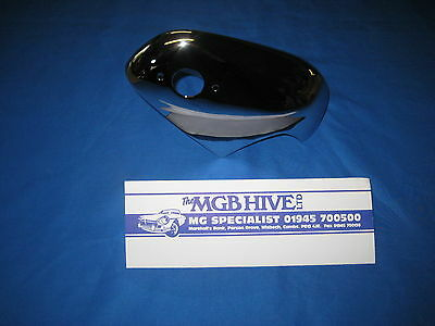MG MGB ROADSTER OR GT ALL CHROME RIGHT HAND DRIVERS REAR OVERRIDER over rider