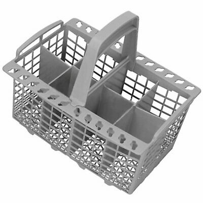 ZANUSSI Genuine Dishwasher Grey Cutlery Basket 8 Compartment C00094297 Spare