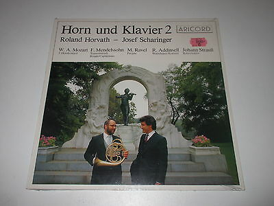 LP/HORN UND KLAVIER 2/HORVATH/SCHARINGER/Aricord A-18411 / SEALED NEU NEW