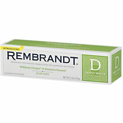Rembrandt Deeply White Toothpaste Mint 2.6 ounce