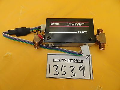 Kofloc 3810U Mass Flow Sensor 3810 60 SLM N2 Used Working