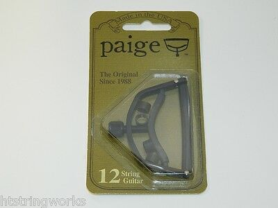 Paige P12E Capo 12 String Acoustic Guitar FREE SHIPPING