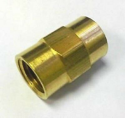 1/4 Coupling Brass Pipe Fitting NPT thread female adapter air fuel water gas