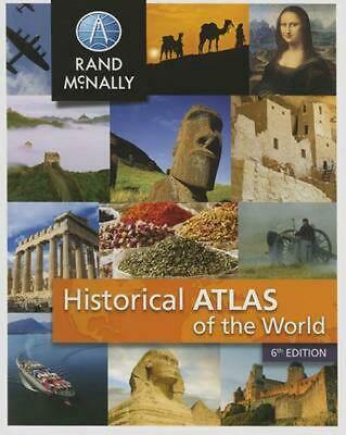 New Historical Atlas of the World by Paperback Book (English)