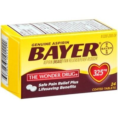 Bayer Aspirin Tablet 24ct