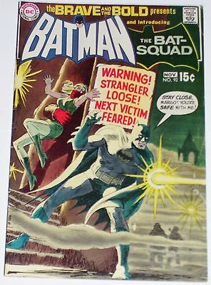Brave and the Bold #92 from Nov 1970 VG- to VG+ Batman & Bat-Squad