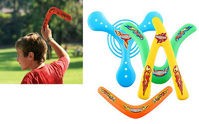 4X 4Shapes Lightweight Returning Throwback Kids ChildrenToys Boomerang