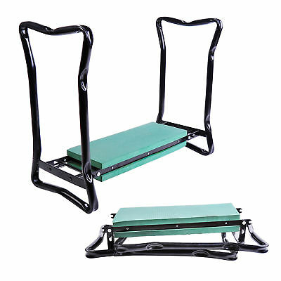 Outsunny 2In1 Folding Garden Kneeler Foam Chair Pad Support Bench Gardening Tool
