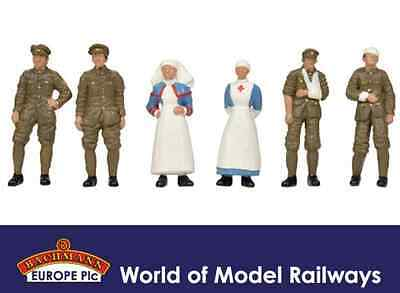 Bachmann 36-409 WW1 Medical Staff and Soldiers OO Gauge