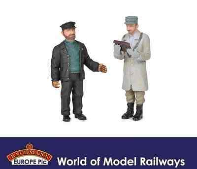 Bachmann 22-186 Engineer and Shunter Figures G Scale