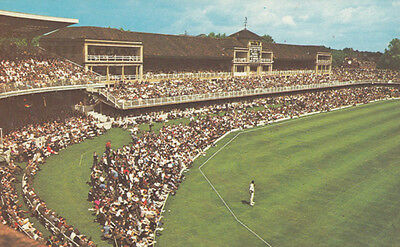 England vs West Indies Test Match 1963 Lords Cricket Ground Postcard