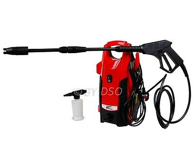 PRO USER 1400w 90 Bar Electric Pressure Washer Patio Jet Car Cleaner BARGAIN