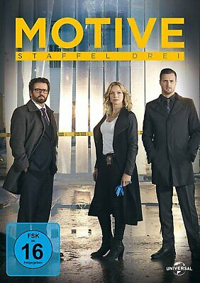 Motive - Die komplette Season/Staffel 3 # 4-DVD-BOX-NEU