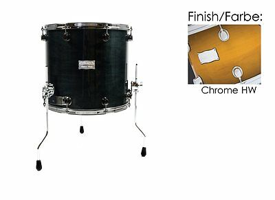 "Mapex Saturn 14""x14"" Floortom Sienna Burst (Chrome Hardware) 70% Reduziert!!!"