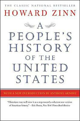 A People's History of the United States by Howard Zinn Paperback Book (English)